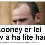 Ja, her er trikset i bruk. Frå dagbladet.no 5. juni 2011
