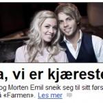 Ja, her er trikset i bruk. Frå dagbladet.no 19. mars 2011